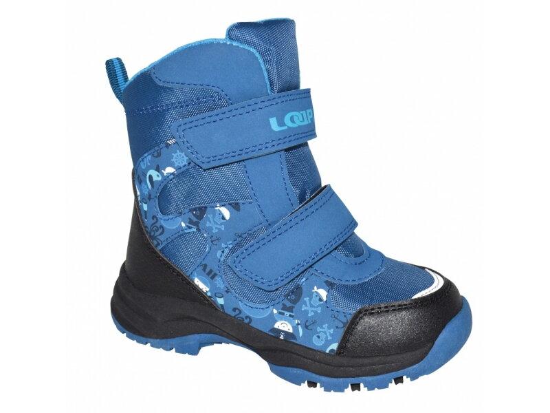 2570d36b32f boty dětské LOAP CHOSEE zimní modré