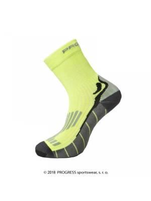 31511fc2aa5bf ponožky Progress RUNNING HIGH SOX fluoritové