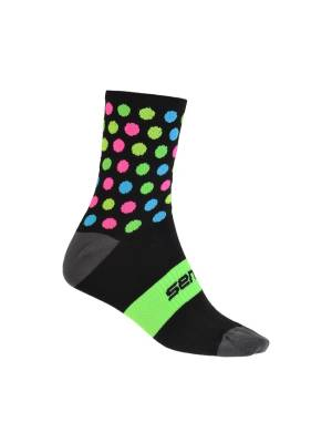 4b76955468d0e ponožky SENSOR DOTS NEW černo/multi